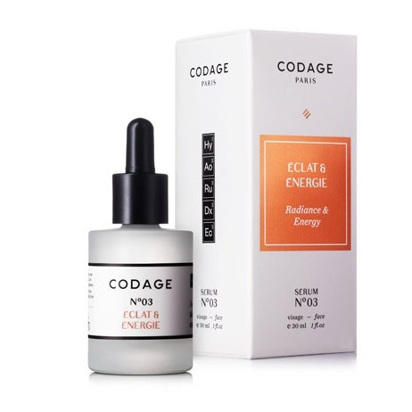 Serum Nº3 CODAGE - RADIANCE & ENERGY